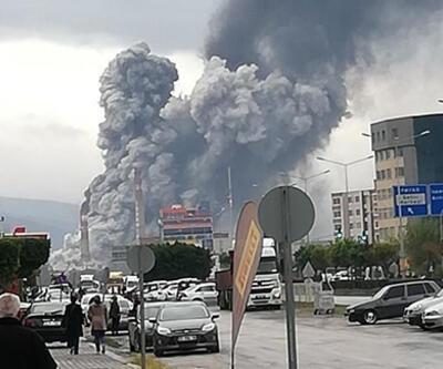 Son dakika... İskenderun Demir Çelik Fabrikası'nda patlama