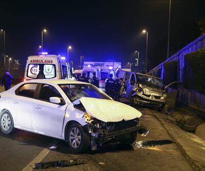 İstanbul'da feci kaza: 2 yaralı