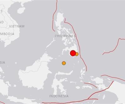 Son dakika... Filipinler'de 6,8 büyüklüğünde deprem
