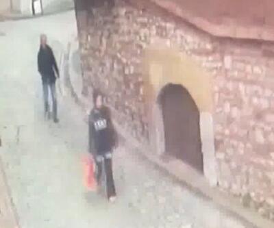 İş yerine giden kadını takip ederek taciz etti