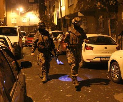 İstanbul'da uyuşturucu satıcılarına operasyon: Çok sayıda gözaltı