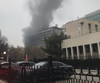 Son dakika... Ankara'da DSİ binasında yangın