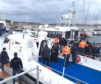 113 kaçak göçmen İzmir'de yakalandı