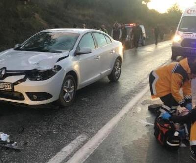 Otomobil çarpan yaşlı kadın öldü