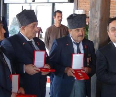 Kıbrıs gazilerine madalya ve beratları dağıtıldı