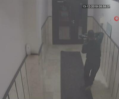 Kağıthane'deki ayakkabı hırsızı yakalandı