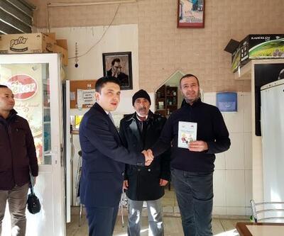Kaymakam Şahin'den esnaf ziyareti