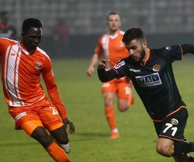 Alanyaspor'dan Adanaspor'a 7 gol