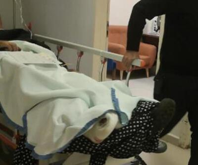 Ayağına metal parçası düşen işçinin parmağı koptu