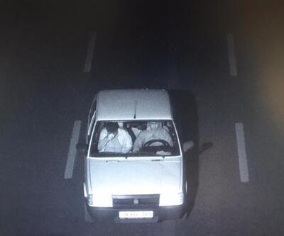 Otoyolda gasp dehşeti