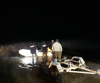 Mahsur kalan balıkçılar kurtarıldı