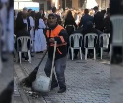 61 yaşındaki temizlik işçisi fenomen oldu