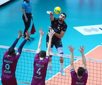 Halkbank - Zenit Kazan: 1-3 | Maç Özeti