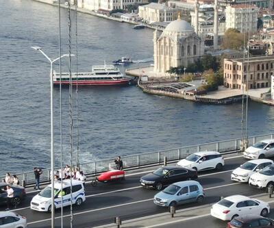 İngiliz gezgin kadın koşarak 15 Temmuz Şehitler Köprüsü'nden geçti