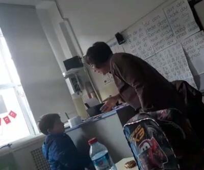 Öğrencisini tartaklayan öğretmene soruşturma açıldı