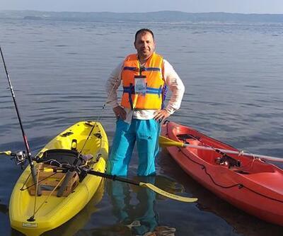 Durusu Gölü'nde ölen 2 kişinin son görüntüsü