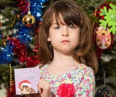 Noel kartından çıkan mesaj şoke etti