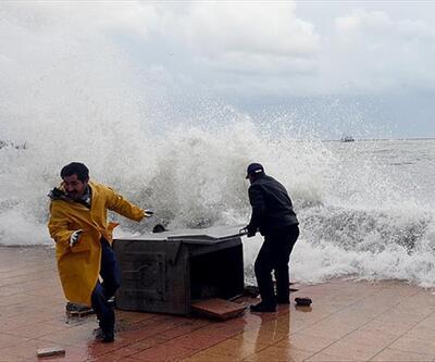 Doğu Karadeniz'de fırtına uyarısı