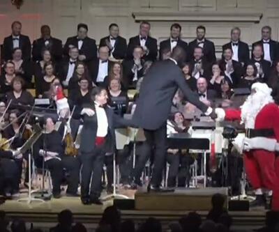 Tacko Fall orkestra şefi oldu, eğlenceli anlar yaşandı