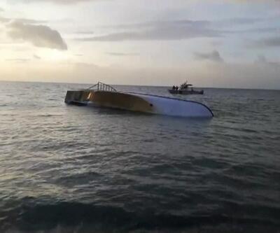 Son dakika... Van Gölü'nde düzensiz göçmenleri taşıyan tekne battı