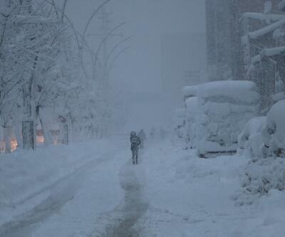 Son dakika: Hakkari, Adıyaman ve Van'da eğitime kar engeli