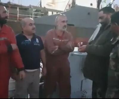 Libya'da alıkonulan Türk gemiciler yaşadıklarını anlattı