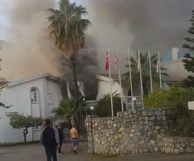 KKTC'de otelde yangın: İngiliz turist öldü