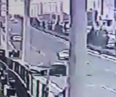 13 yaşındaki çocuk kaza yaptı