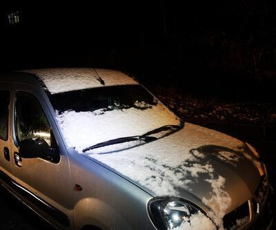Ve İstanbul'da kar yağışı başladı!