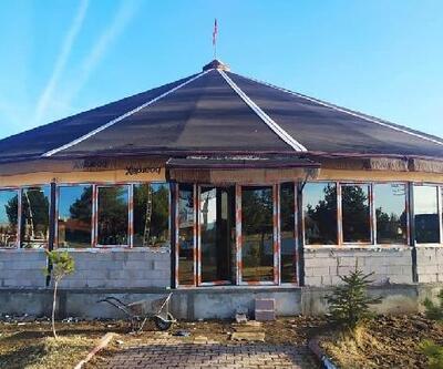 Sızır'a kıl çadırdan düğün salonu