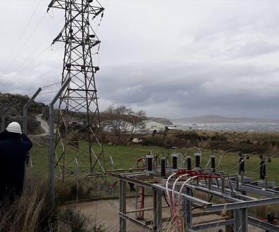 Marmara Adası'na elektrik verilmeye başlandı