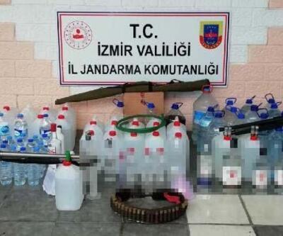İzmir'de sahte içki operasyonu: 5 gözaltı