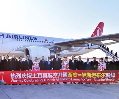 THY Çin'de Xi'an uçuşlarına başladı
