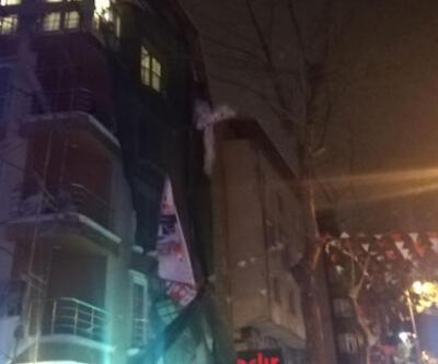 İstanbul'da şiddetli rüzgarda iskele koptu