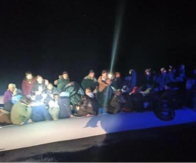 Bodrum açıklarında 43 kaçak göçmen yakalandı