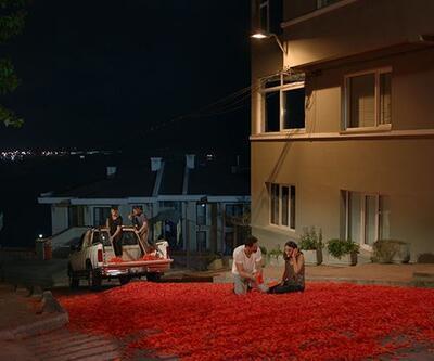 Onur Tuna'dan 100 bin gül yaprağıyla evlilik teklifi