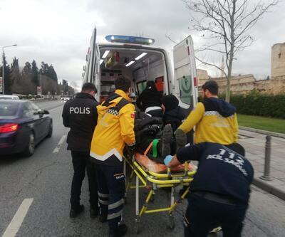 Zeytinburnu'nda iki İETT otobüsü çarpıştı