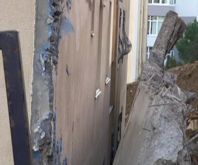 Kartal'da 2 bina boşaltıldı