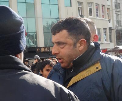 Taksim'de turiste meydan dayağı