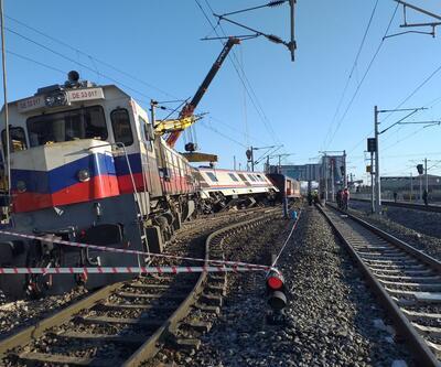 Ankara'da vagon raydan çıktı