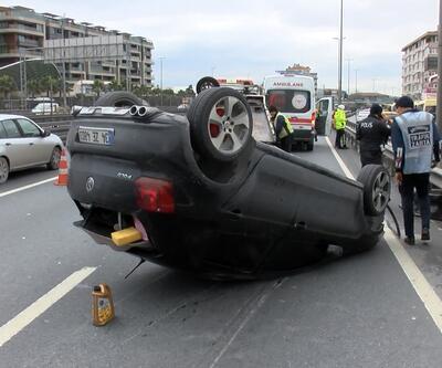 D-100'deki kazada makas iddiası