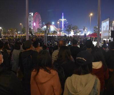Hong Kong'da 'Beyaz Terör' protestosu
