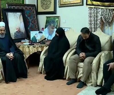 Ruhani'den Süleymani'nin ailesine taziye ziyareti