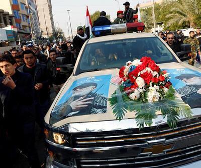Kasım Süleymani'nin cenaze töreninde tepki çeken detay