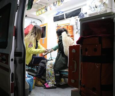 Yurtta kalan 34 öğrenci hastanelik oldu