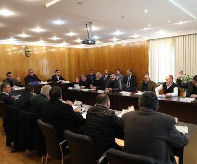 İncesu Belediyesi yılın ilk meclis toplantısını yaptı