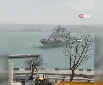 Savaş gemisi Kabataş'a yanaşırken sürüklendi