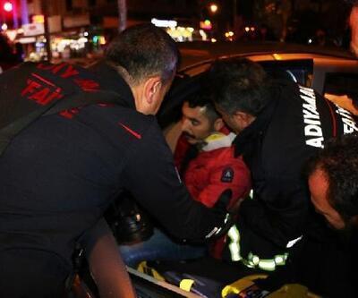 Adıyaman'da otomobiller çarpıştı: 2 yaralı