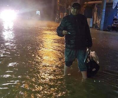 Alanya'da sağanak; ev ve iş yerlerini su bastı