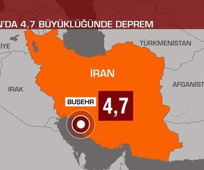Son dakika... İran'da 4,7 büyüklüğünde deprem